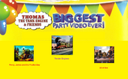 Thomas The Tank Engine and Friends - Biggest Party Video Ever! (1998) - Scene Selection 1