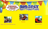 Thomas The Tank Engine and Friends - Biggest Party Video Ever! (1998) - Scene Selection 2