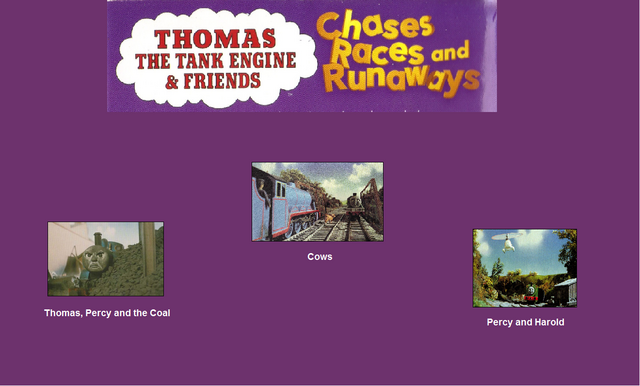 File:Thomas The Tank Engine and Friends - Chases, Races and Runaways (1997) - Scene Selection 2.png
