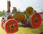Awesomelaysliker the scrap traction engine