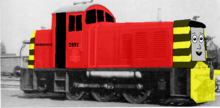 ThomasFan08 the Dockyard Diesel