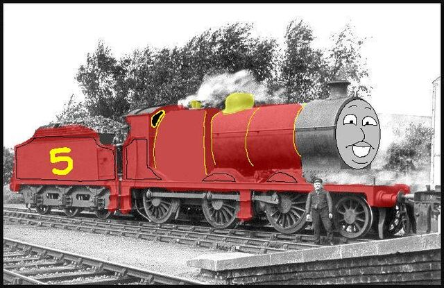 File:Luke the red engine.jpg