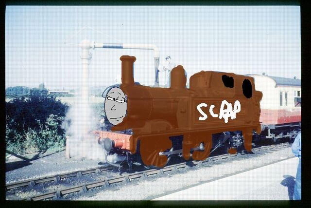 File:Sweetchick91 the scrap gwr engine.jpg