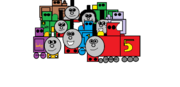 Thomas and his occasional family
