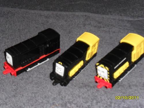 File:ERTL Bert, Arry and Diesel.JPG