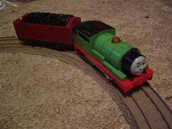 Percy with Red Coal Truck