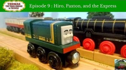 Thomas Wooden Series Hiro, Paxton, and the Express