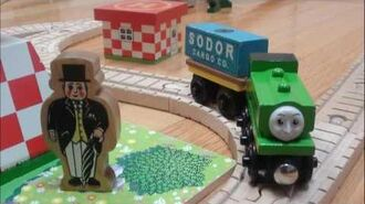 Sodor Airfield Set Unboxing and Discussion - Thomas & Friends - WoodenRailwayStudio