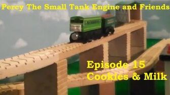 Percy The Small Tank Engine and Friends - Cookies & Milk