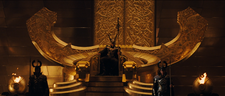 Loki throne