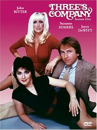 Three's Company Season 5 DVD cover