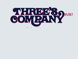 Three's Company Wiki Script 1480x1110 Silver blue script