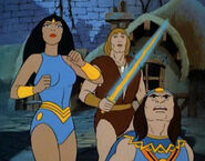 Thundarr and Arial Looks Up