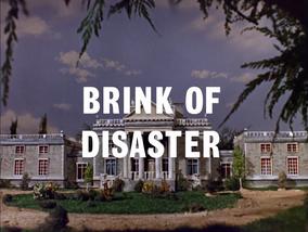 Image Brink of disaster