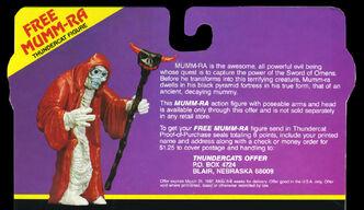 Mail Away Mummra offer