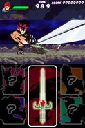 Thundercats Nintendo DS screen 1