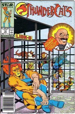 Thundercat comic US 14