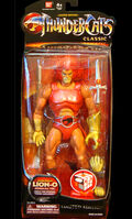 Bandai Classic Lion-O 8 inches STGCC Box