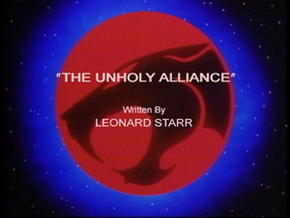 The Unholy Alliance - Title Card