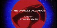 The Unholy Alliance