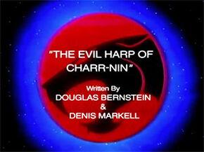 Evil Harp Title Card
