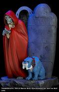 Hard Hero Mumm-Ra and Ma-Mutt Statue - 004