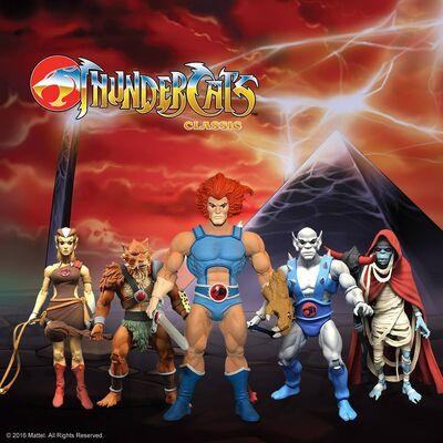 Mattel ThunderCats Figures