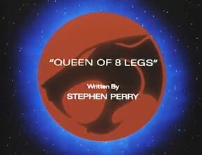 Queen of 8 Legs Title Card