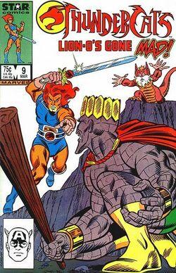Thundercat comic US 9