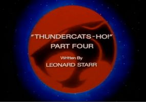 Thundercats Ho - Part IV - Title Card