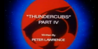 ThunderCubs - Part IV