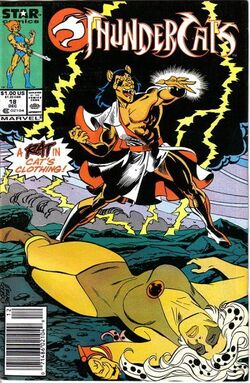 Thundercat comic US 18