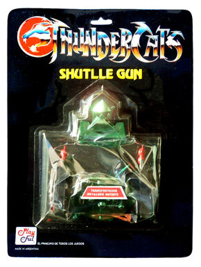 Playful Evil Shuttle Gun