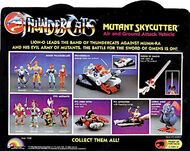 LJN Skycutter Box Back