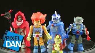 Icon Heroes SDCC Exclusive ThunderCats MiniMates Figure Review