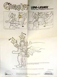LJN Luna Lasher Instructions