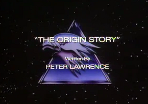 The Origin Story - Title Card