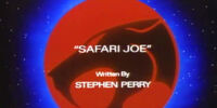 Safari Joe (episode)