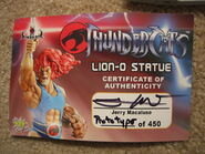 Pop Culture Shock Lion-O Statue Prototype - 006