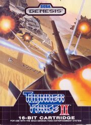Thunder Force II US Cover 01