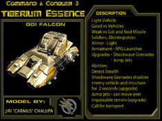 TEManual GDI Falcon