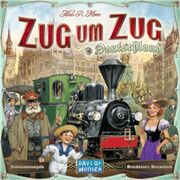 Ticket to ride germany german language zug um zug deutschland xl