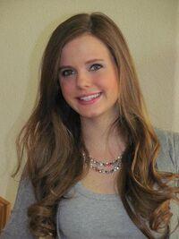 Tiffany smiling portrait