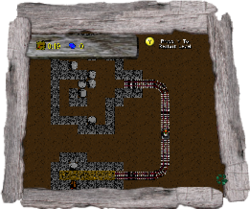 Miner man carts