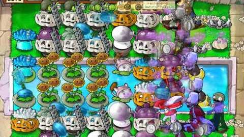 Plants vs zombies 14,998 - 15,000 flags Survival endless Cobless Setup