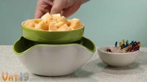Why Didn't I Think of This Snack Bowl?