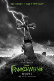 Tim Burton Frankeweenie Poster