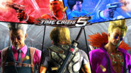 Time Crisis 5 intro screen with logo