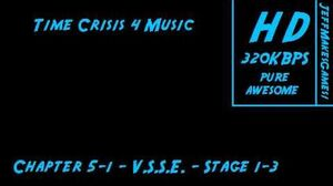Time Crisis 4 Music - Chapter 5-1 - Arcade - Stage 1-3