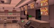 Derrick Lynch in Geyser 1 control room (Arcade version)
